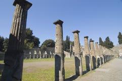 antiquites roman pompei arkivbild
