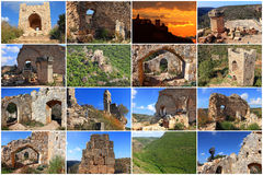 Antiquities of Holy Land stock images