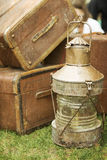 Antiquities at the street market Royalty Free Stock Image
