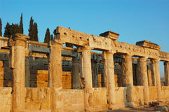 Antiquity construction Royalty Free Stock Photography