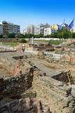Antiquity and Contemporary Thessaloniki Royalty Free Stock Photo