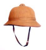 Antiquity cork helmet. Royalty Free Stock Image