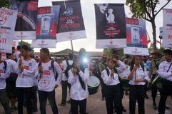 Antirauchenkampagne Stockbild