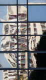 Antiriflessione di vetro e vetro opaco Fotografia Stock