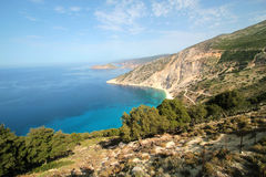 Antisamos Beach Stock Photo