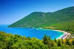 Antisamos beach stock photo