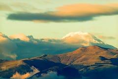 Antisana Volcano In Ecuador Stockfoto