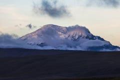 Antisana volcano Royalty Free Stock Photos
