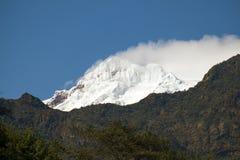 Antisana wulkan w Ekwadorskich Andes, Obraz Royalty Free