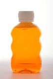 Antiseptic Liquid. On white background Royalty Free Stock Photography