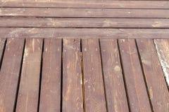Antiseptiskt wood golv Royaltyfri Fotografi