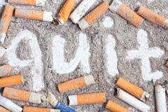 Antismoking background Royalty Free Stock Images