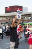 Antistaatsgreep in Thailand Stock Foto's