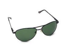 Antisun glasses. Isolated over white, save eyes Royalty Free Stock Photos
