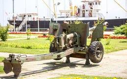 Antitank Cannon Stock Photo