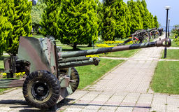 Antitank Cannon Stock Photo