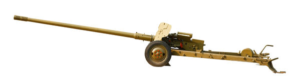 Antitank gun Stock Photo