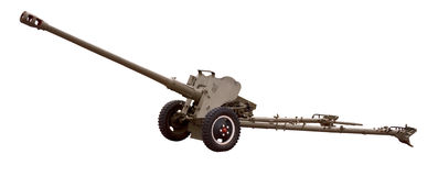 Antitank gun Stock Images