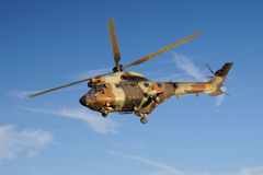 A antitank helicopter on sky Royalty Free Stock Image
