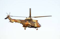 A antitank helicopter on sky Royalty Free Stock Photography