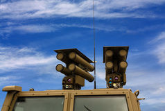 Antitank missile system Royalty Free Stock Images