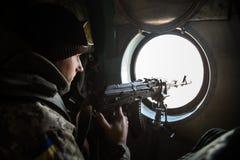 Antiterrorist operation in the Donetsk region, Ukraine Stock Images