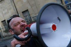 Antitrumpf-Protest Lizenzfreie Stockbilder