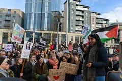 Antitrumpf-Protest Lizenzfreies Stockbild