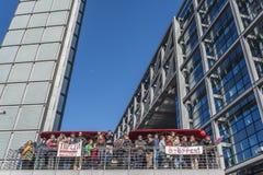 Antittip-demonstratie in Berlijn Royalty-vrije Stock Fotografie