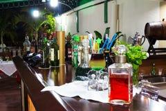 Antivari della La Aldaba del ristorante Immagini Stock