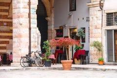 Antivari Ristorante Della Ragione, Verona, Italia Immagine Stock Libera da Diritti