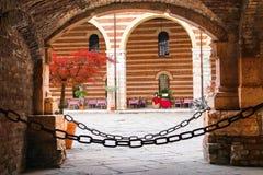 Antivari Ristorante Della Ragione, Verona, Italia Fotografia Stock