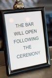Antivari si aprirà dopo cerimonia Fotografia Stock Libera da Diritti