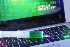 Antivirus Obraz Stock