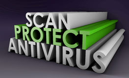 Antivirus Stock Image