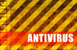 antivirus royalty ilustracja