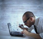 Antivirus concept Stock Image