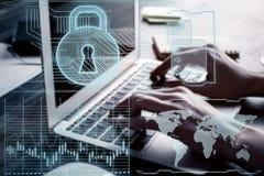 Antivirus concept Royalty-vrije Stock Afbeeldingen