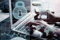 Antivirus concept Royalty Free Stock Images