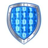 Antivirus de bouclier Photo stock