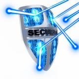 Antivirus dello schermo Immagini Stock
