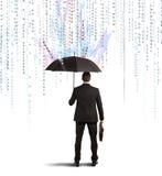 Antivirus i zapory pojęcie Obraz Stock