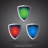 antivirus opiekunu osłona Zdjęcie Stock
