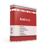 Antivirus oprogramowanie Obraz Stock