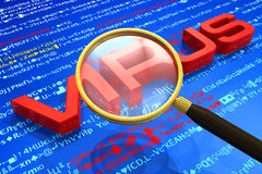 Antivirus protection concept Royalty Free Stock Photo