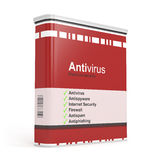 Antivirus software Stock Image