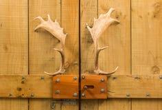 Antlers Door Handles Stock Images