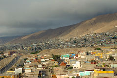 Antofagasta, Chile. View of Antofagasta, Chile, South America royalty free stock photo