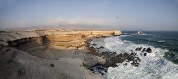Antofagasta coast in Chile Royalty Free Stock Photos