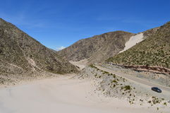 Antofagasta de la Toppig bergskedja Royaltyfria Bilder